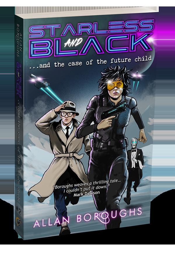 Book Cover - Starless & Black